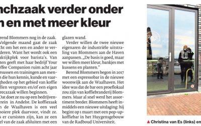 Gesha in de Gelderlander 25 januari 2020